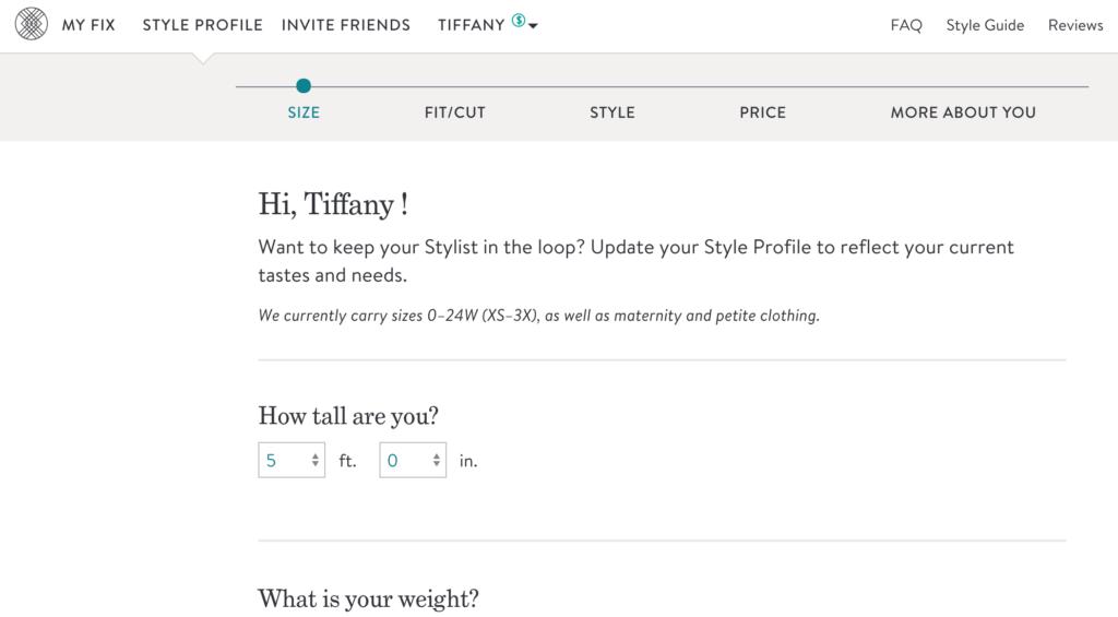 Stitch Fix subscription | Stitch Fix review