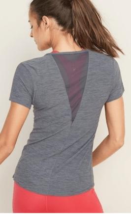 Breathe ON Mesh-Back Performance Tee for Women