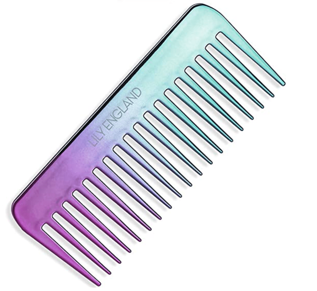 wide-toothed comb for curly hair
