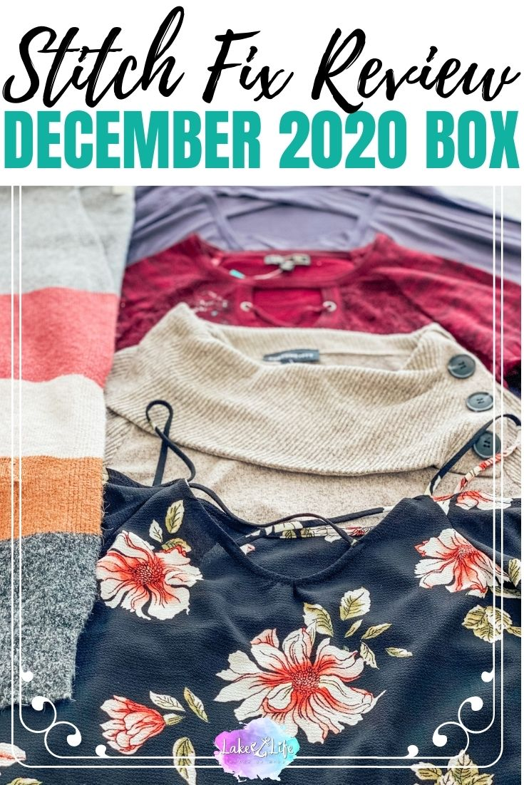 Stitch Fix Box Review for December 2020