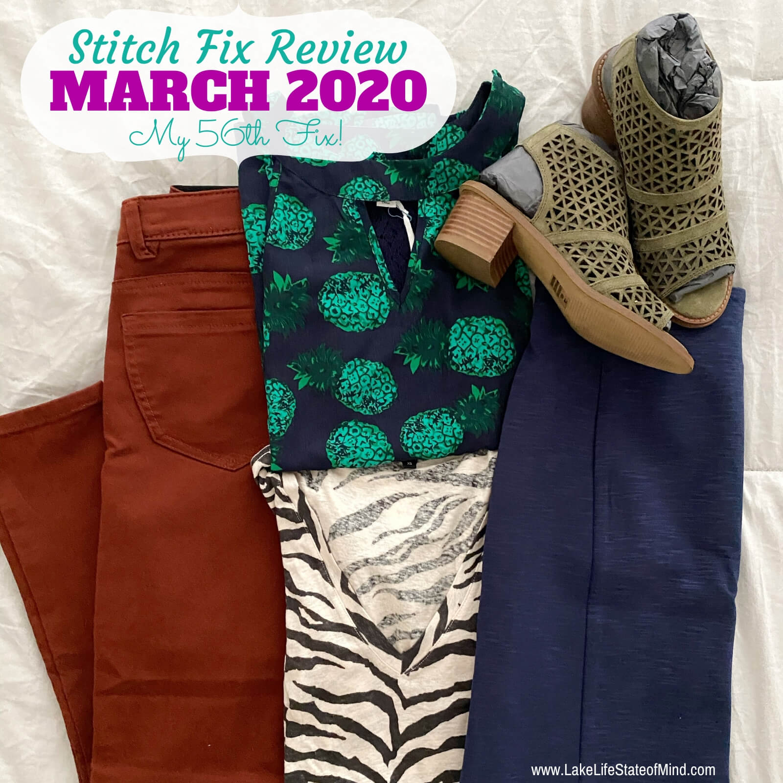 Stitch Fix Box Review: March 2020 Fix #56
