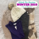 Stitch Fix Box Review: Winter 2019 Fix #54