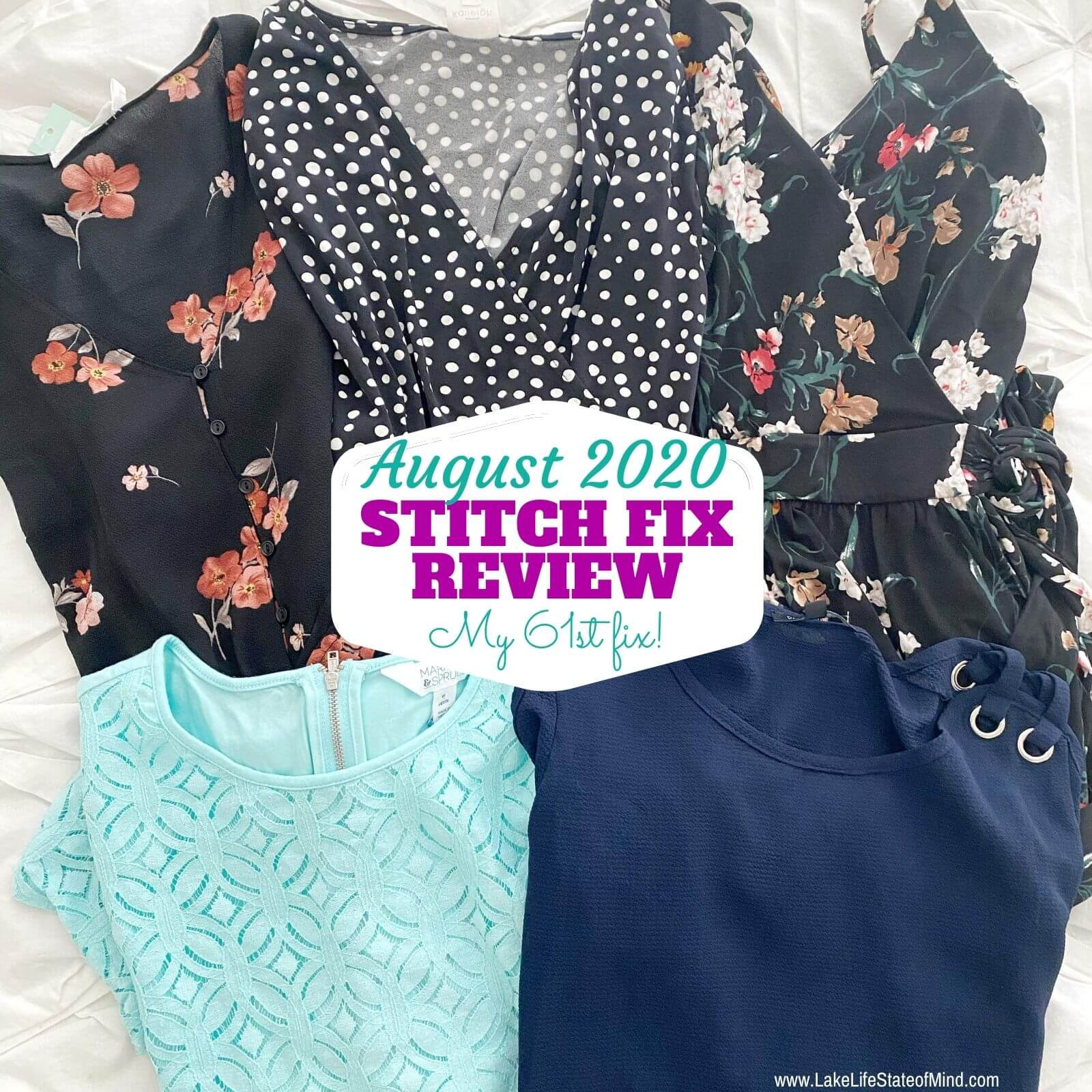 Stitch Fix Box Review for August 2020