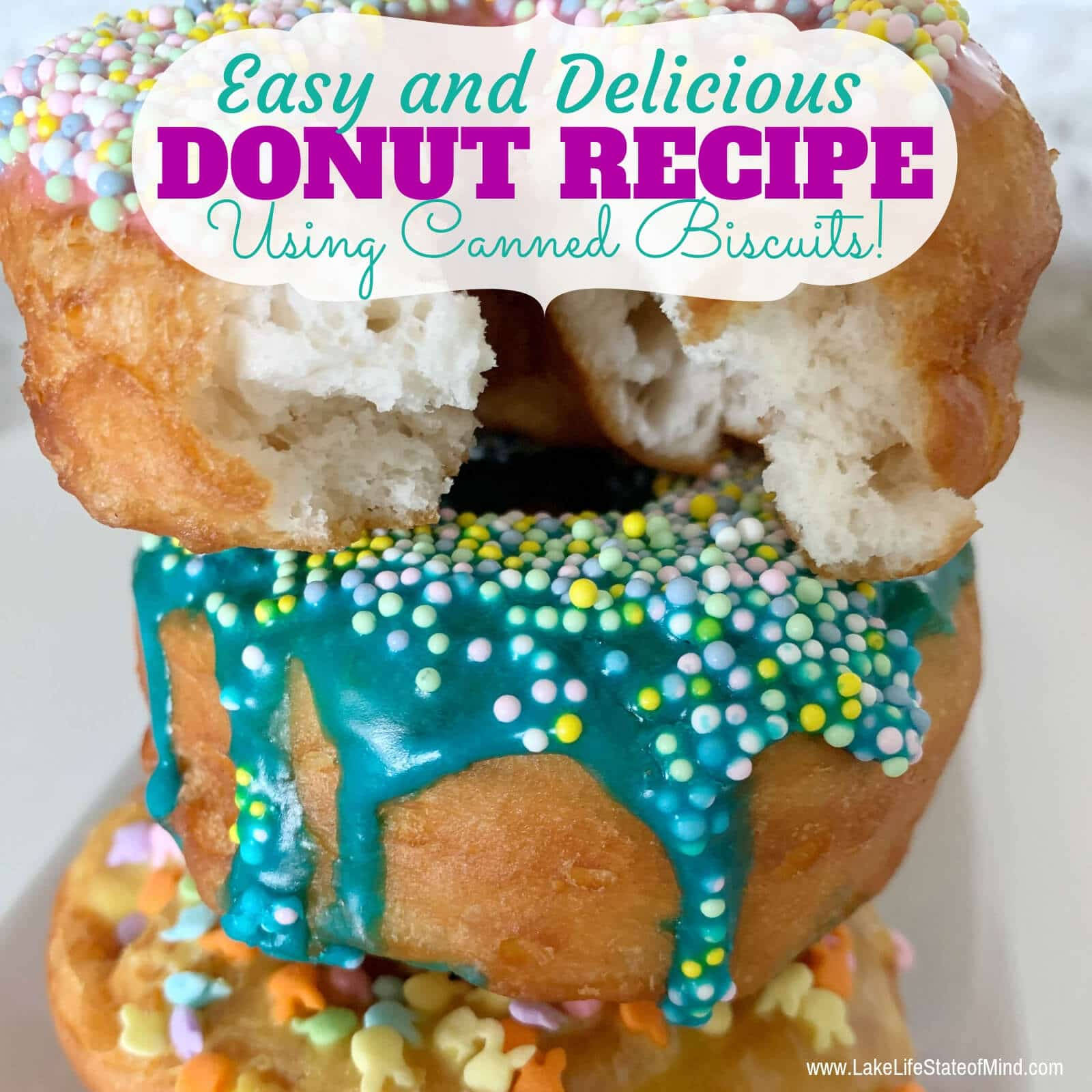 The Easiest Donut Recipe of All Time!