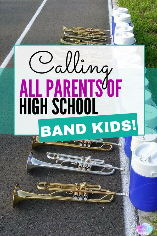 What I learned as a first year band parent | high school band tips and tricks for parents