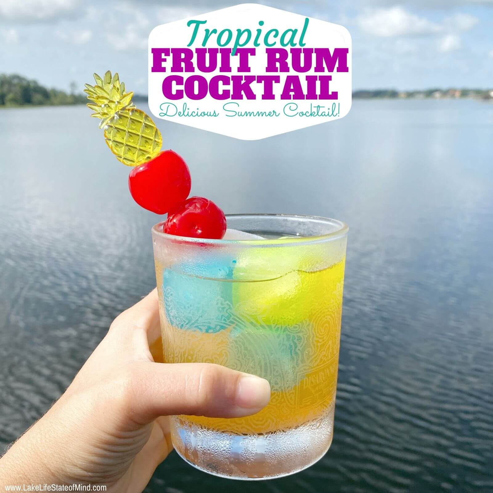 Cruzan Tropical Fruit Rum Cocktail