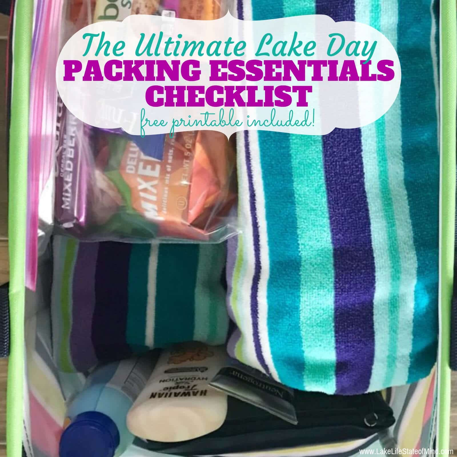 Ultimate List of Essentials to Pack for a Day on the Lake