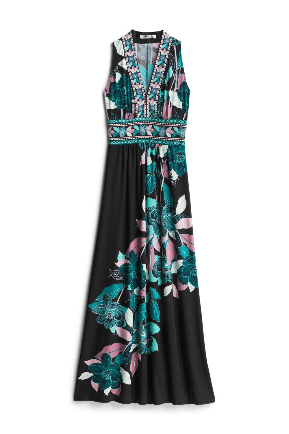 WISP Ella Jersey Maxi Dress SIZE- 0P $88.00