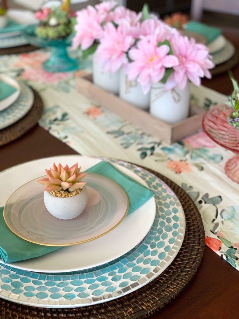 Coastal Spring Decor