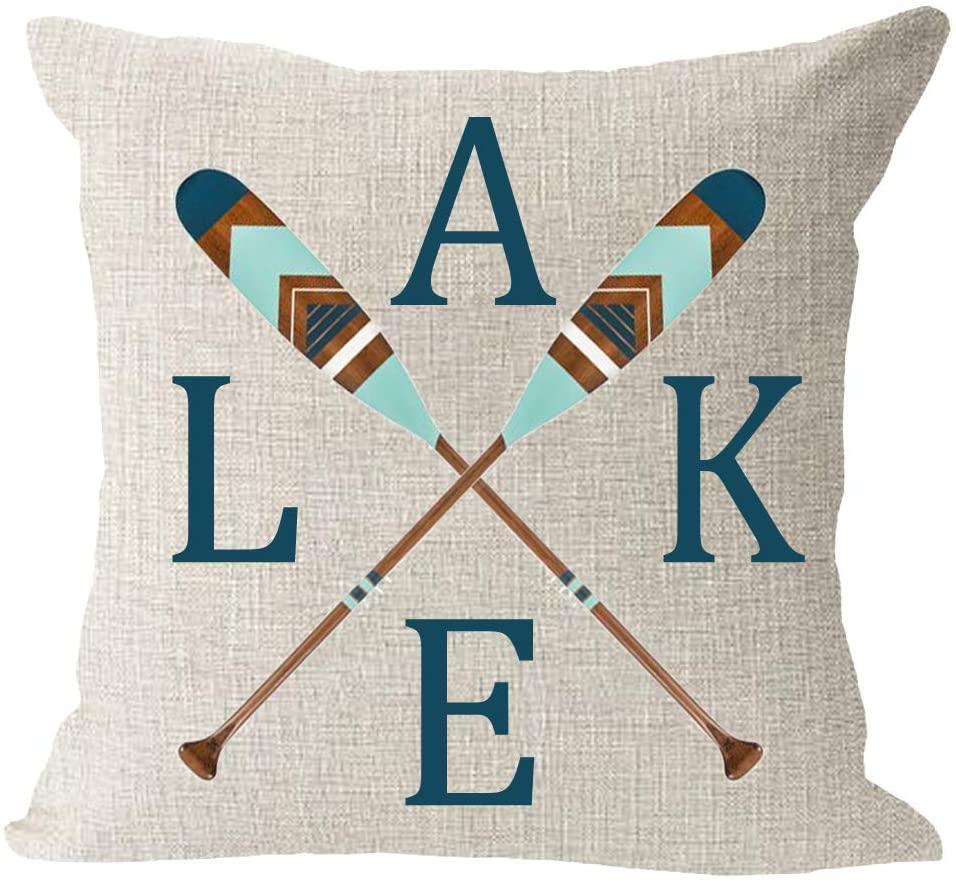 Lake House Pillow | Lake House Gift Idea