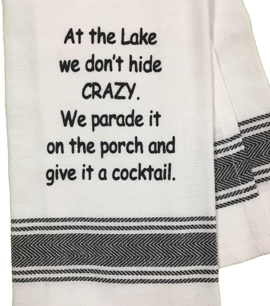 Lake House Dish Towel | Lake House Gift Ideas