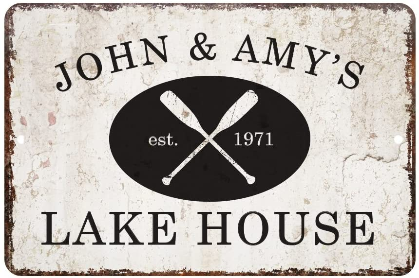 Personalized Lake House Sign | Personalized Lake House Sign